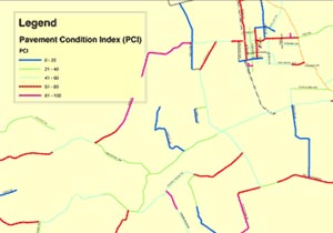 Sonoma County's GIS Pavement Management System with Real-Time Scenario and Maintenance Analysis