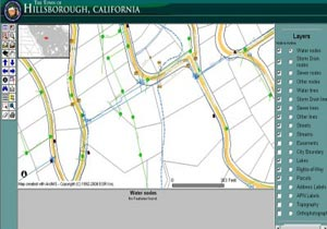 Town of Hillsborough Enterprise Geodatabase Development