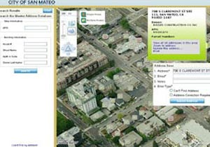 City of San Mateo Master Address Database