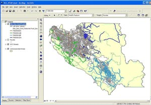 Santa Clara County Pavement Management System – GIS Integration