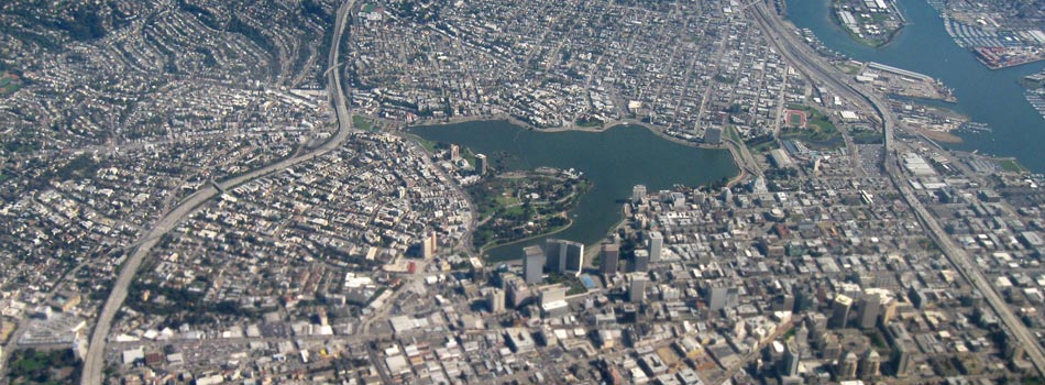 Oakland uses orthophotography & enterprise GIS for parcel management and economic analysis