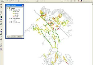 Enterprise GIS for Town of Woodside with StreetSaver PMS integration