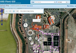 Union Sanitary District Plant GIS
