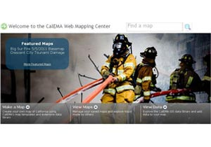 Cal EMA Enterprise GIS and CAL-SABER Mobile Web Application
