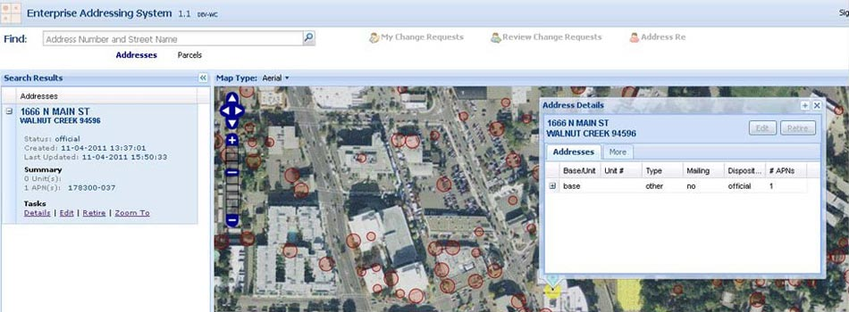 Enterprise Address Repository and Maintenance Solution for Walnut Creek Citywide Building Address Database
