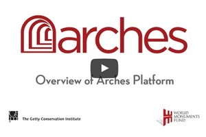 [VIDEO] Overview of Arches v3.0 for geospatial management of cultural heritage