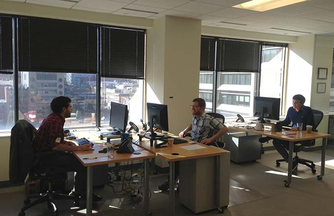 Farallon Geographics Office in San Francisco
