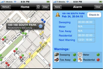 Data drives everything GIS!  That's how an iPhone app helps you avoid parking tickets