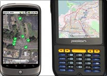 Fargeo Mobile data collection and presentation solutions including Android, iPad, iPhone and other mobile devices