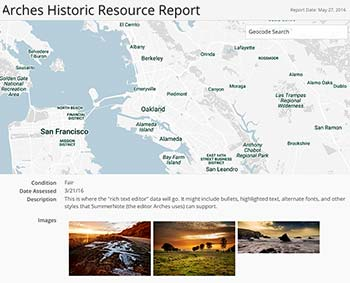 Arches 4 Lets Developers Create Custom Reports for Cultural Heritage Management