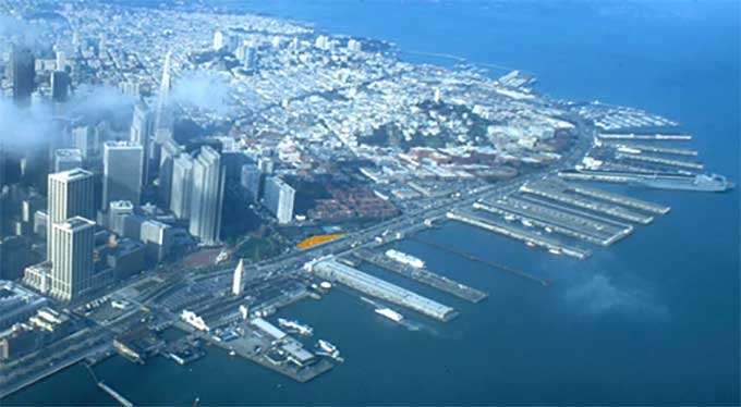 Port of San Francisco Climate Change Sea Level Rise GIS